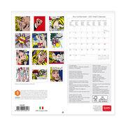 Roy Lichtenstein wall calendar 2017