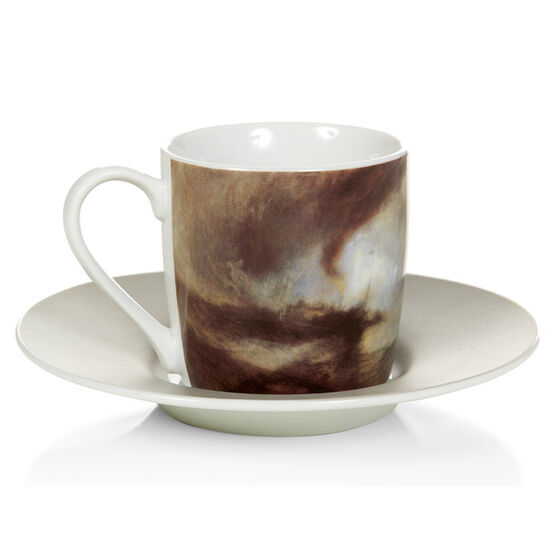 Late Turner Espresso cup - Snow Storm