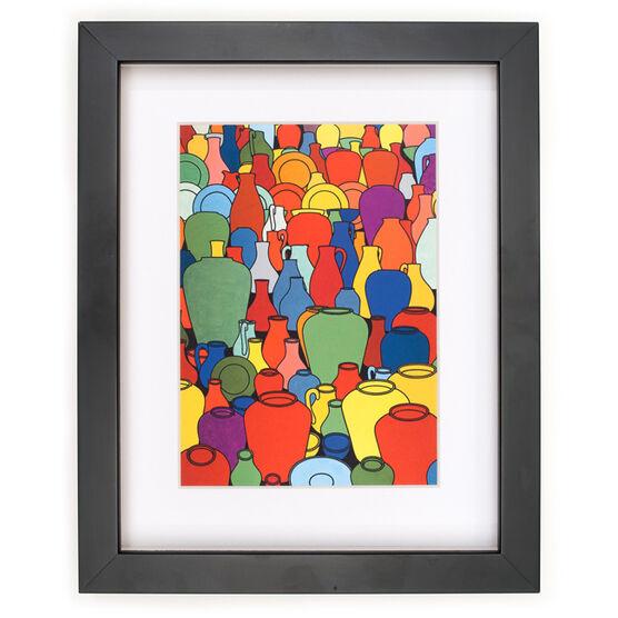 Caulfield Pottery (framed print)
