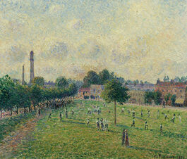Pissarro: Kew Green