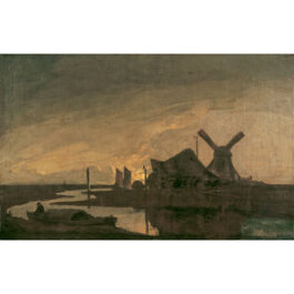 Crome: Moonrise on the Yare