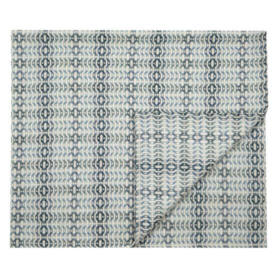 Llarwydden blue single blanket