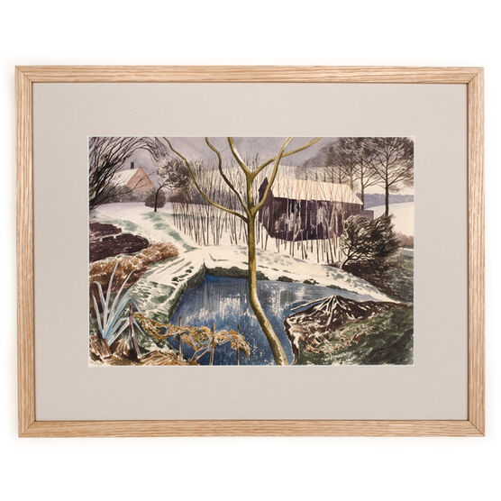 Nash Wild Garden (framed print)