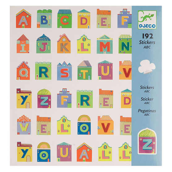 ABC stickers