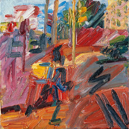 Auerbach: Hampstead Road, High Summer