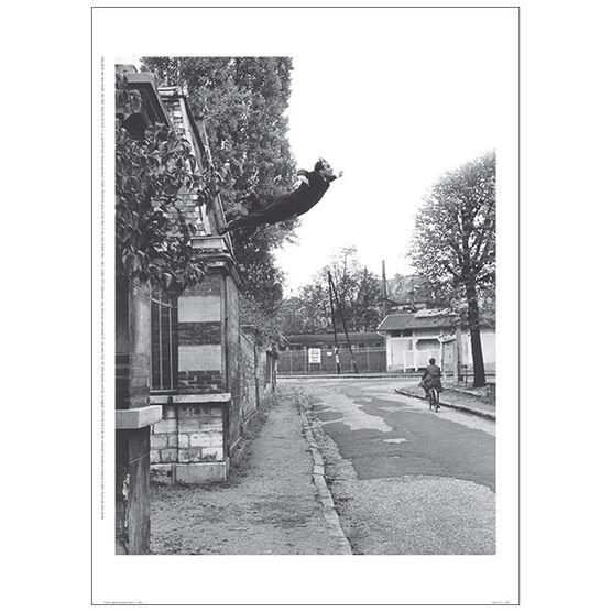 Yves Klein Saut dans le Vide poster