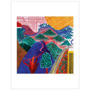 David Hockney Outpost Drive, Hollywood (Folio)
