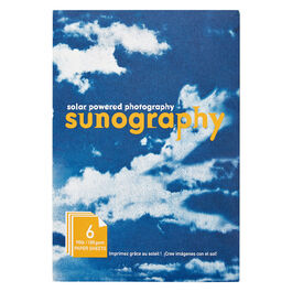 Sun paper photogram