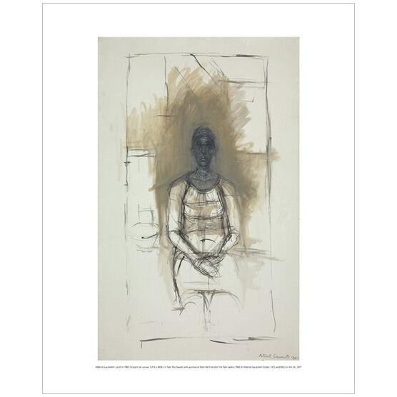 Alberto Giacometti Caroline (mini print)