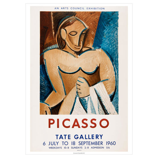 Pablo Picasso: 1960 vintage poster