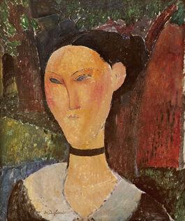 Modigliani: Woman with Velvet Ribbon