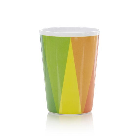 Colour wheel plastic cup