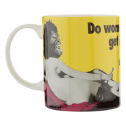 Guerrilla Girls Do Women Have to be Naked Mug