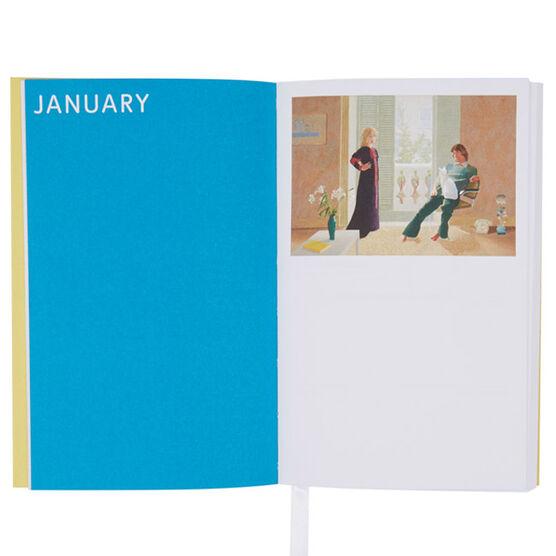David Hockney pocket diary 2018