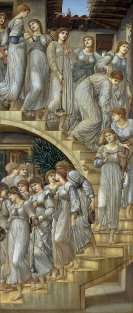 Burne-Jones: The Golden Stairs