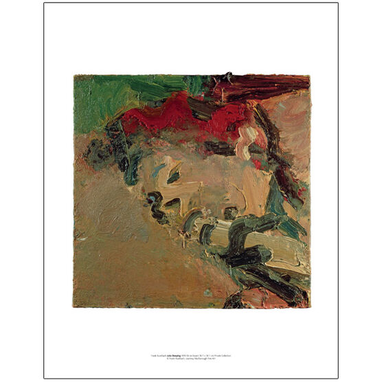 Frank Auerbach Julia Sleeping 1978 (mini print)
