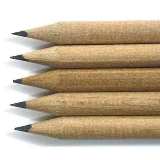 Set of five sketching pencils