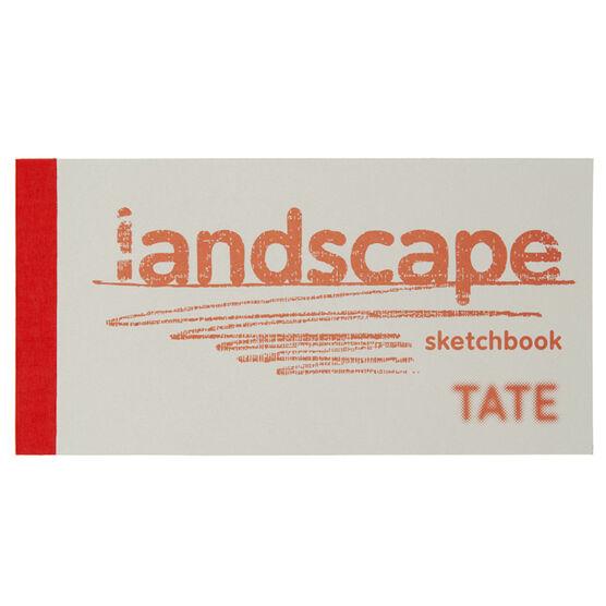 Red landscape sketchbook
