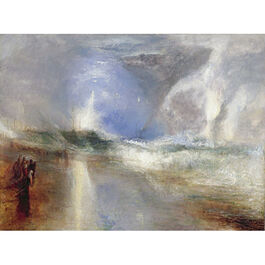Turner: Rockets and Blue Lights (custom print)