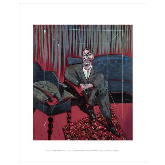 Francis Bacon: Seated Figure mini print