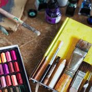 Ella Doran artist tools notebook