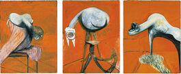 Francis Bacon: Three Studies for Base of a Crucifixion