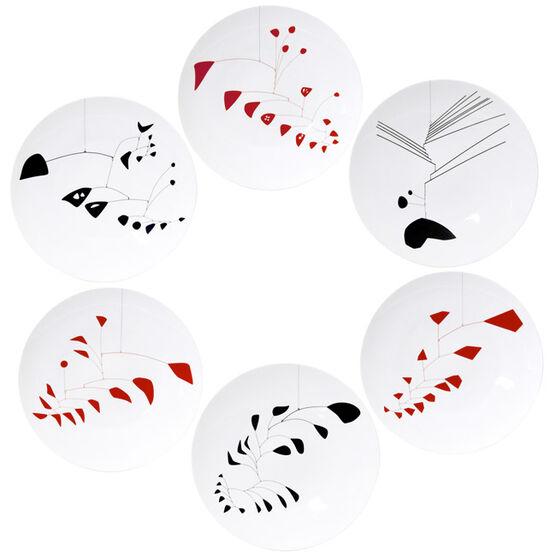 Bernardaud Alexander Calder plates