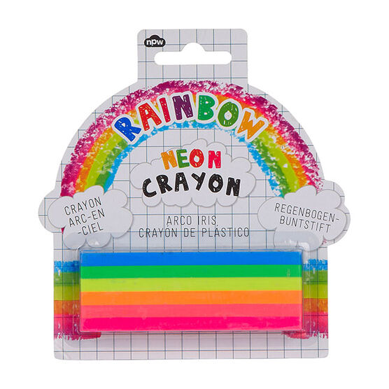 Neon crayons Rainbow