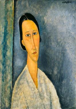 Amedeo Modigliani: Madame Zborowska