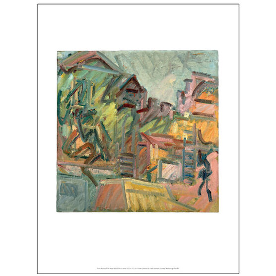 Frank Auerbach The House III 2011 (exhibition print)