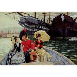 Tissot: Portsmouth Dockyard (custom print)