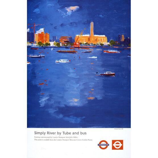 Simply River (TFL poster)
