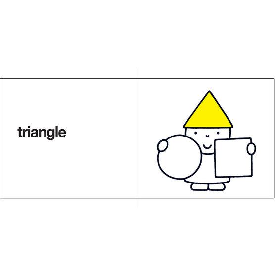 round, square, triangle