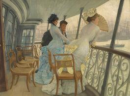 Tissot: The Gallery of HMS Calcutta