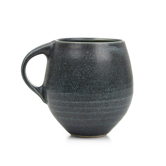 David Worsley glazed ceramic mug