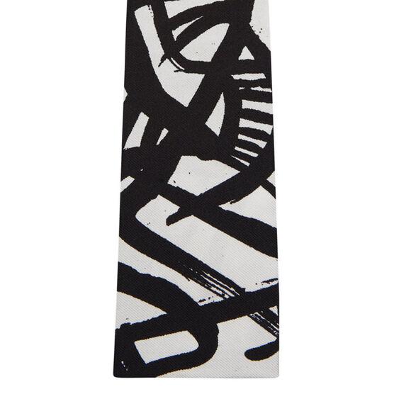 Patrick Heron Monochrome  silk tie