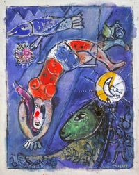 Chagall: The Blue Circus