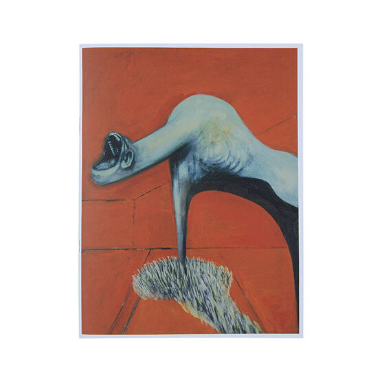 Francis Bacon triptych notebook