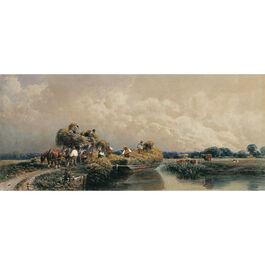 De Wint: Roman Canal, Lincolnshire (custom print)
