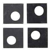 Slate napkin rings
