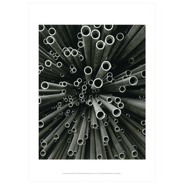 Peter Keetman: Steel Pipes, Maximilian Smelter poster