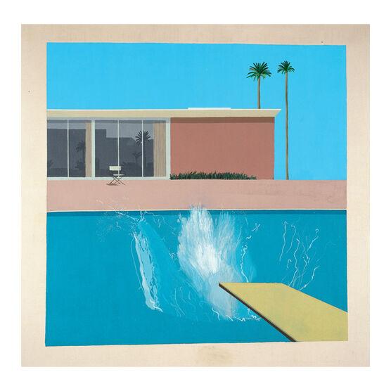 David Hockney Notecard Set  LA