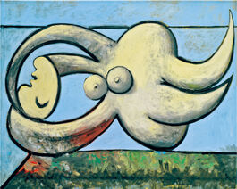 Pablo Picasso: Reclining Nude