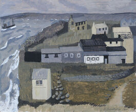 Barns-Graham: Island Sheds, St Ives No. 1