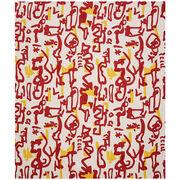 Patrick Heron Aztec silk pocket square
