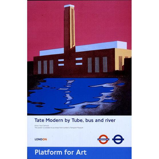 Platform for Art (TFL poster)