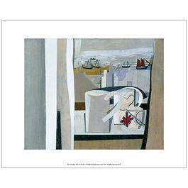 Nicholson 1943-45 St Ives (unframed print)