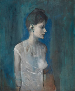 Pablo Picasso: Girl in a Chemise