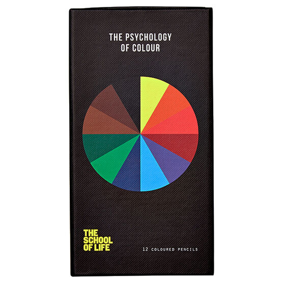 the school of life colouring pencils