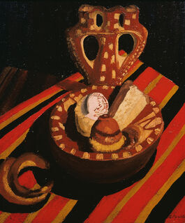 Cedric Morris: Patisseries and a Croissant